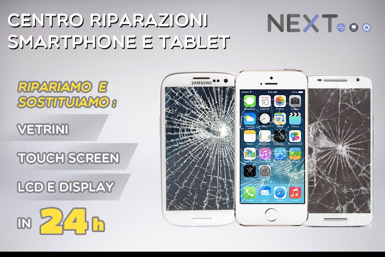 Centro riparazioni smartphone e tablet L'Aquila -Next -